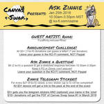 Canvas Swap Fundraiser: Jan 25th by Temrin