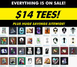 BIG SALE! $14 Tshirts and more! by Temrin