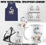 New Shop Item: Splotchy Lemur!