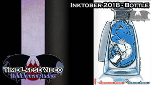 [VIDEO] - Inktober 2018 - Bottle/Bozo