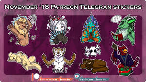 PTR - Nov Telegram Stickers