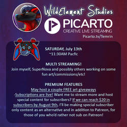 Multistream Saturday July 13th! by Temrin