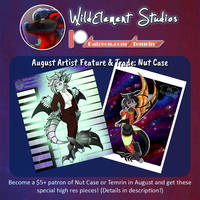 August Artist Feature/Trade/Video: Nut Case