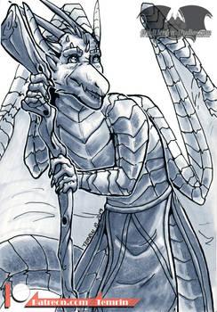 PTR - Inktober : Ancient - WDG