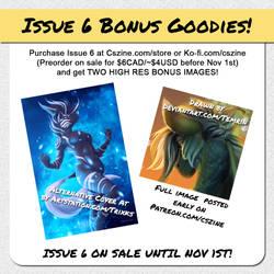CSZ Issue 6 Bonus Goodies
