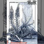 PTR Inktober 2019 - Overgrowth #2 - Ember