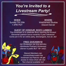 Livestream Party!