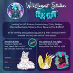 COUCHCON - Commissions