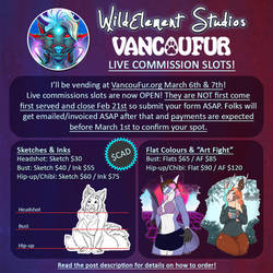 VancouFur Commissions OPEN