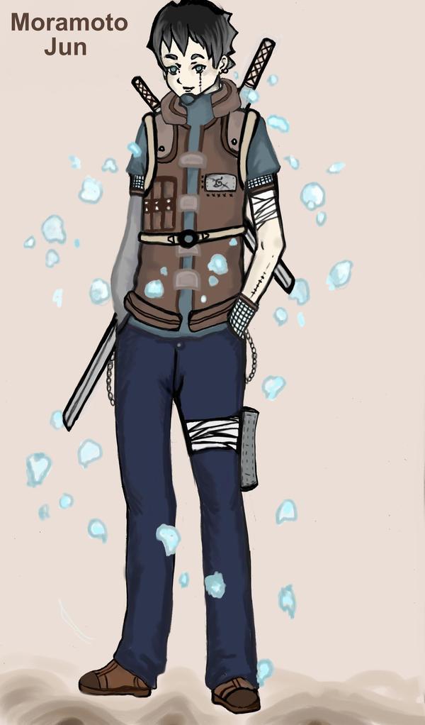Naruto OC:Moramoto Jun by ManabeLady1313