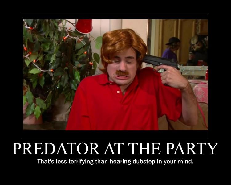Smosh Predator and Dubstep Guy Motivator by htfman114