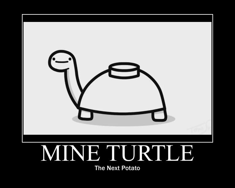 Mine turtle explosion - photo#28
