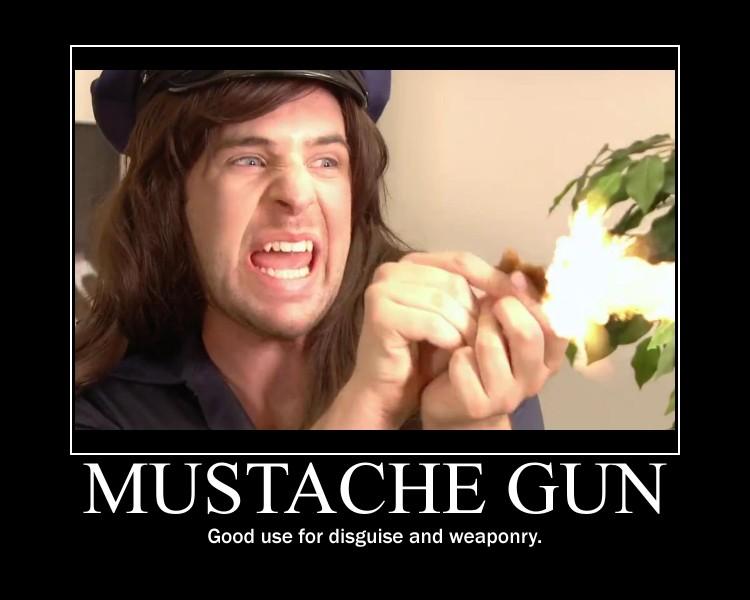 Mustache Gun by htfman114