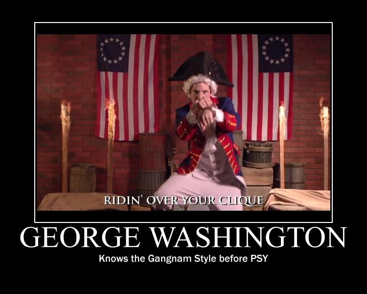 George Doing Gangnam by htfman114