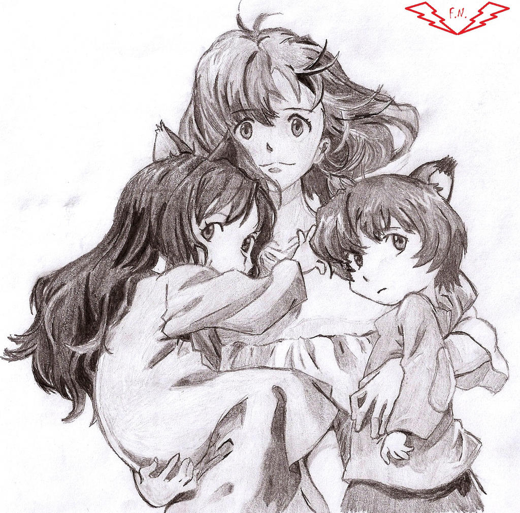 The wolf children ame and yuki by fullmetalnyuu on deviantart the wolf children ame and yuki by fullmetalnyuu ccuart Choice Image