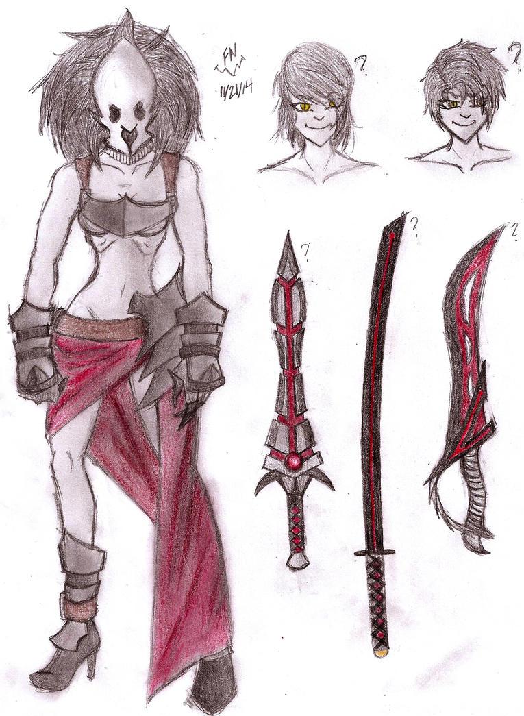 Raeja Ebonheart Concepts by FullmetalNyuu