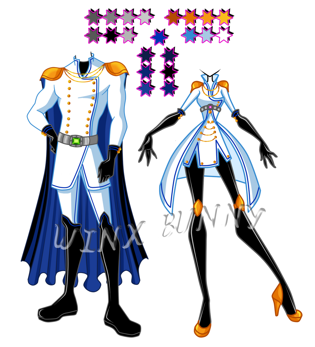 RF uniform reference by Winx-Bunny