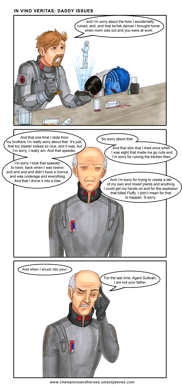 Swtor: In vino veritas - Daddy issues by Ddriana