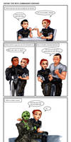 C+H: Dating tips with Commander Shepard