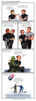 C+H: Dating tips with Commander Shepard by Ddriana