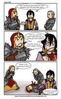 Champions and Heroes: [DA2, bit spoily] Too far by Ddriana
