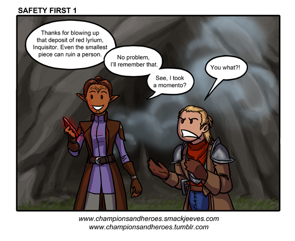 Champions and Heroes: Safety First 1 by Ddriana