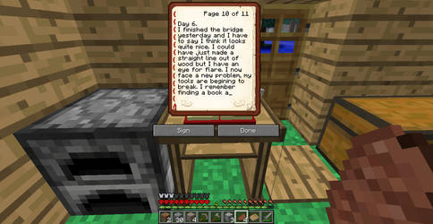 Minecraft Adventures-Journal Entry 4 Pt.1
