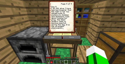 Minecraft Adventures-Journal Entry 5