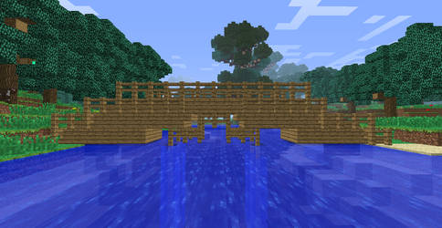 Minecraft Adventures- Bridge Finished
