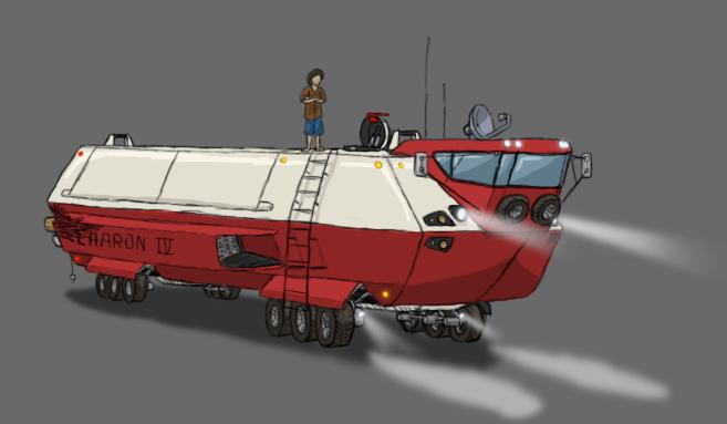 Space Truck CharonIV by ScottaHemi
