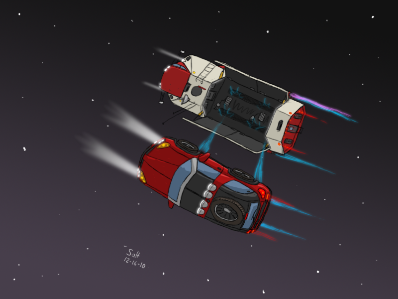 Launching the Trailhawk by ScottaHemi