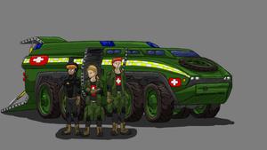 Space Marine Ambulance