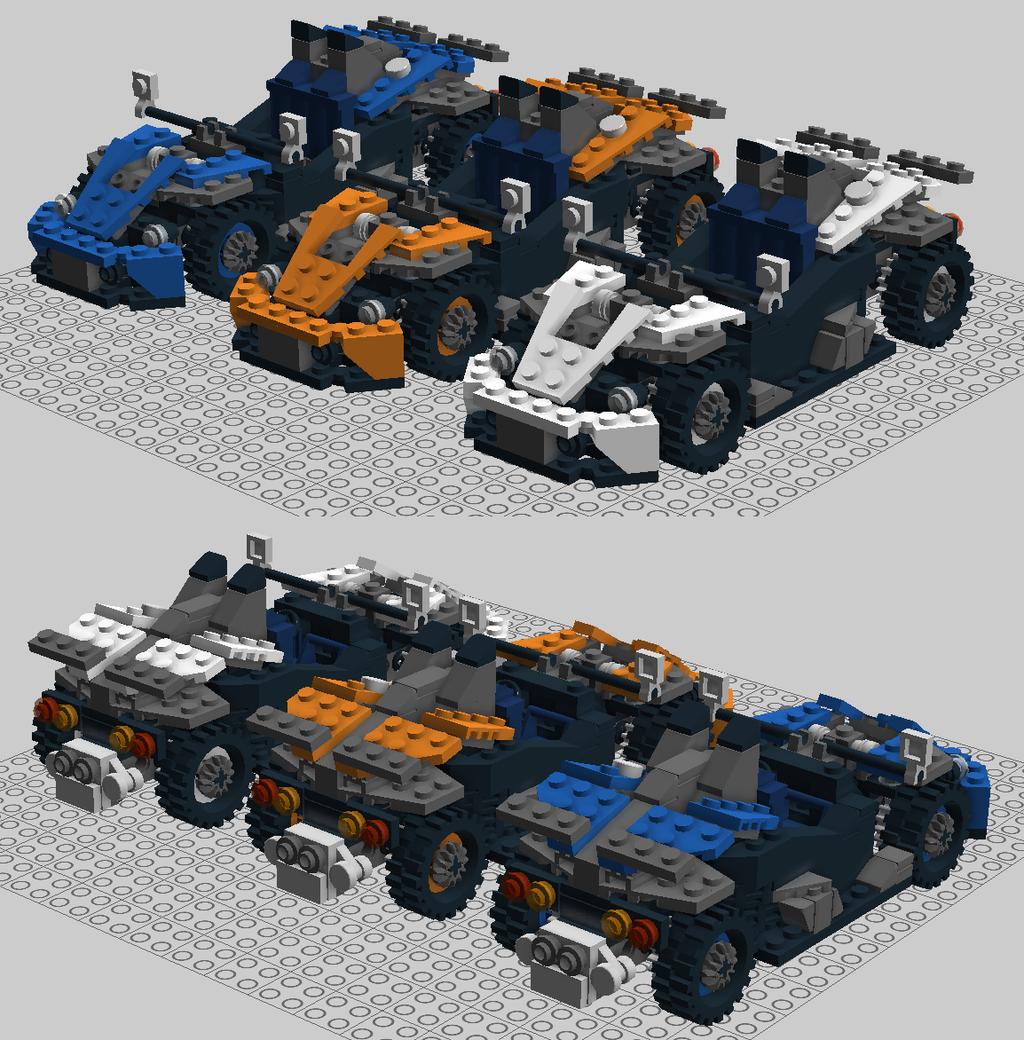 Lego KTM X-Bow By ScottaHemi On DeviantArt