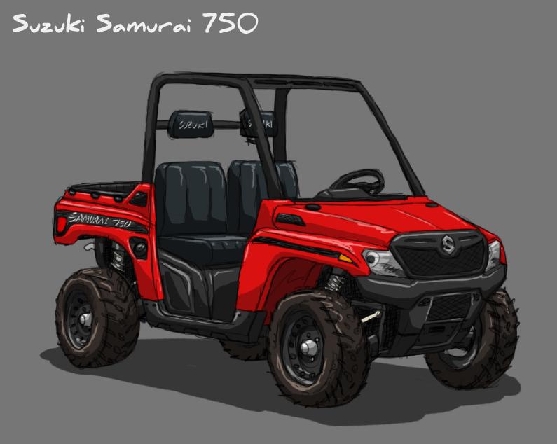 Suzuki Samurai 750 Utv By Scottahemi D79sr7u