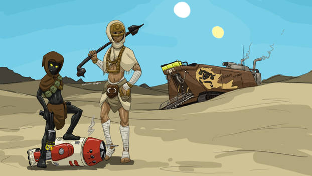 Tatooine Girls