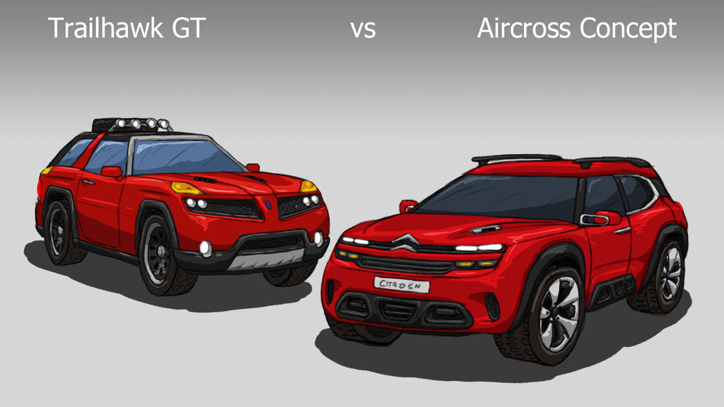 Aircross vs Trailhawk