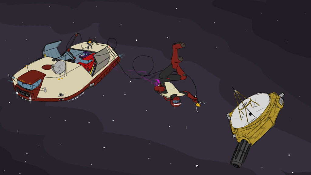 New Horizon meets Charon IV by ScottaHemi