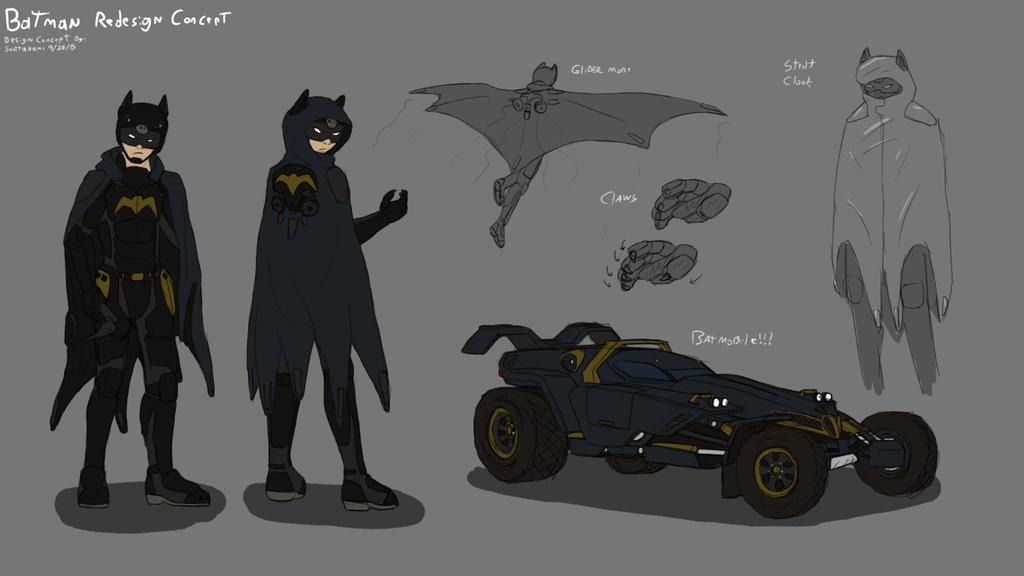 Batman Redesign Concept By ScottaHemi On DeviantArt