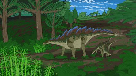 Stegosaurus by ScottaHemi