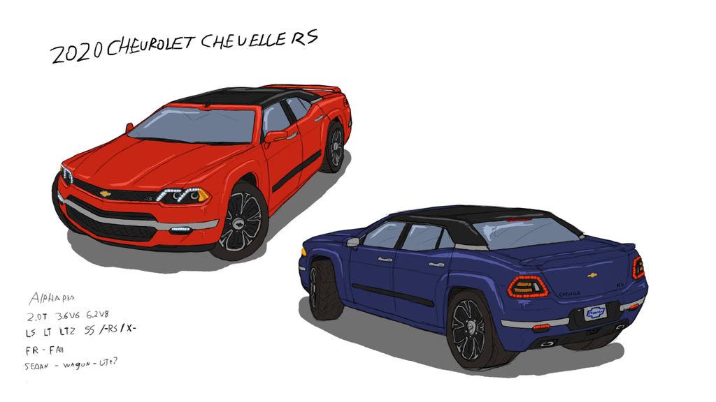 2020 Chevy Chevelle Concept by ScottaHemi on DeviantArt