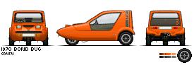 1970 Bond Bug Pixelcar by ScottaHemi