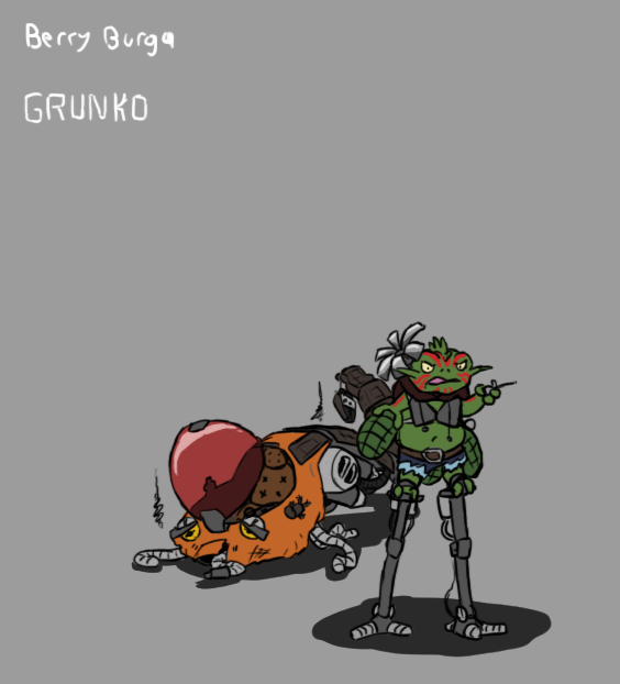Froggy Bounty Hunter by ScottaHemi