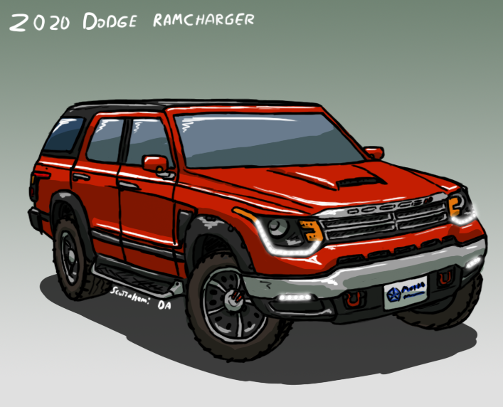 2020 Dodge Ramcharger Concept By Scottahemi On Deviantart