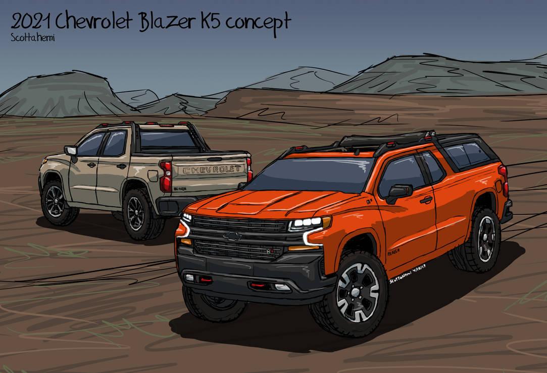 2021 Chevy Blazer K 5 Price