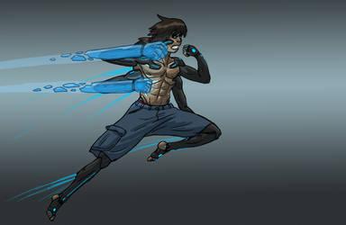 Dan EG Flying Energy Punch.