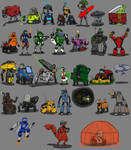 March of Robots 2020 (the gangs all here)
