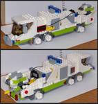 Lego Cyberpunk Fire Truck