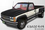 Custom Silverado K3500 454