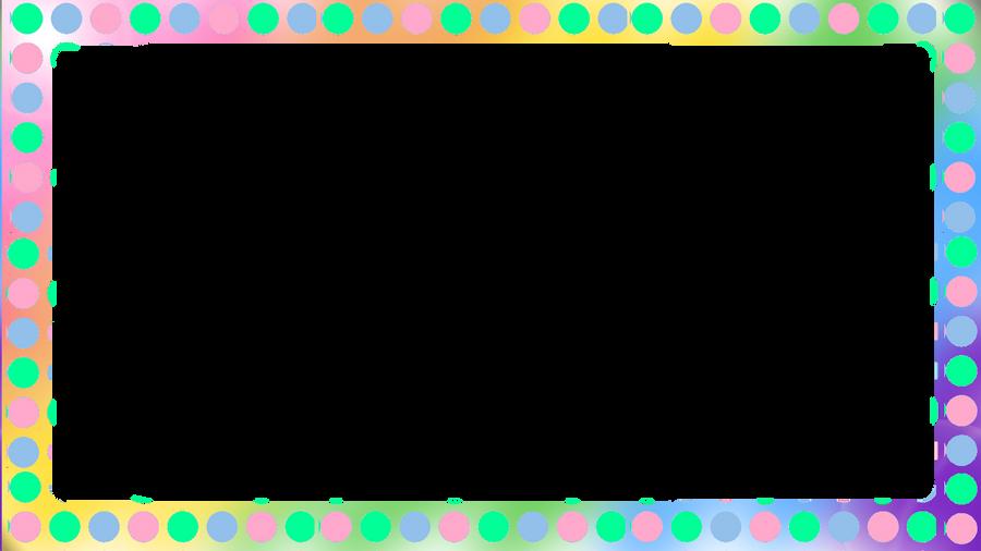 Polka Dot Frame by iCosmicAngel on DeviantArt
