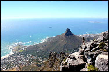 A View from Table Mountain by mikewilson83